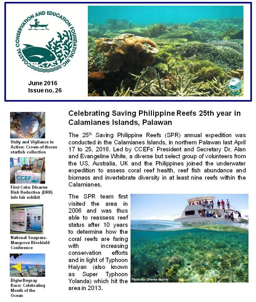 CELEBRATING SAVING PHILIPPINE REEFS 25TH YEAR IN CALAMIANES ISLANDS, PALAWAN