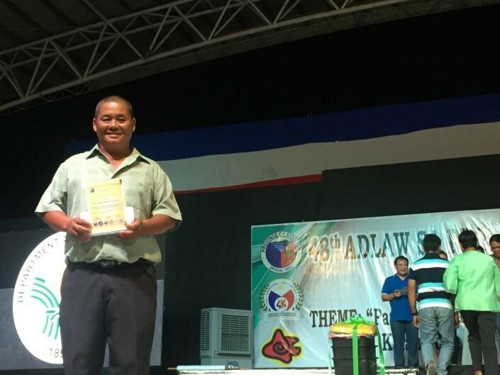 Adlaw sa Probinsya sa Siquijor: Siquijor awards Isla de Fuego MPA Awardees